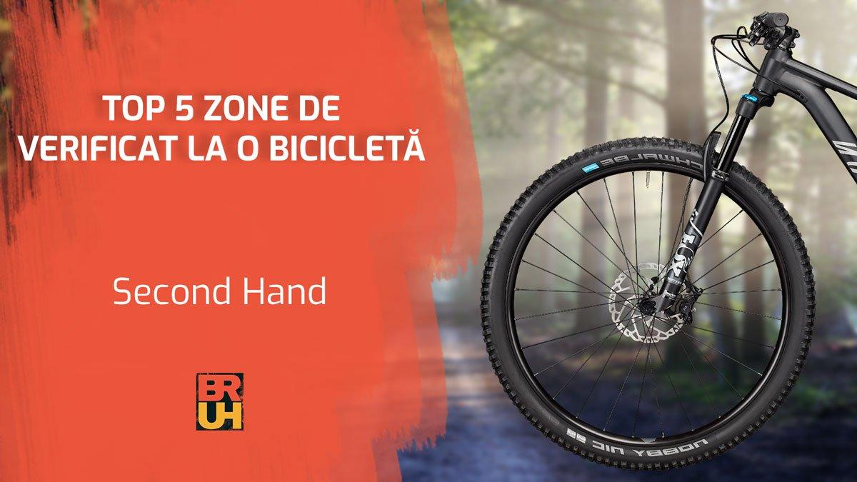 bicicleta second hand ce trebuie sa verifici